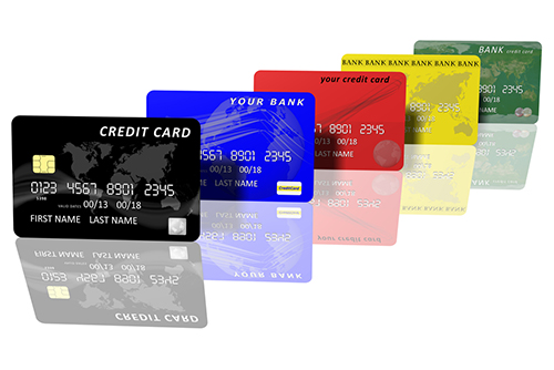 credit cards and debits cards