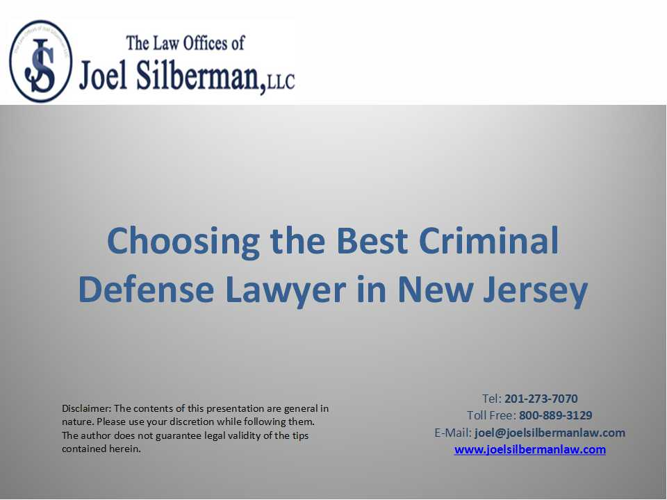 Choosing The Best Criminal Defenese Lawyer
