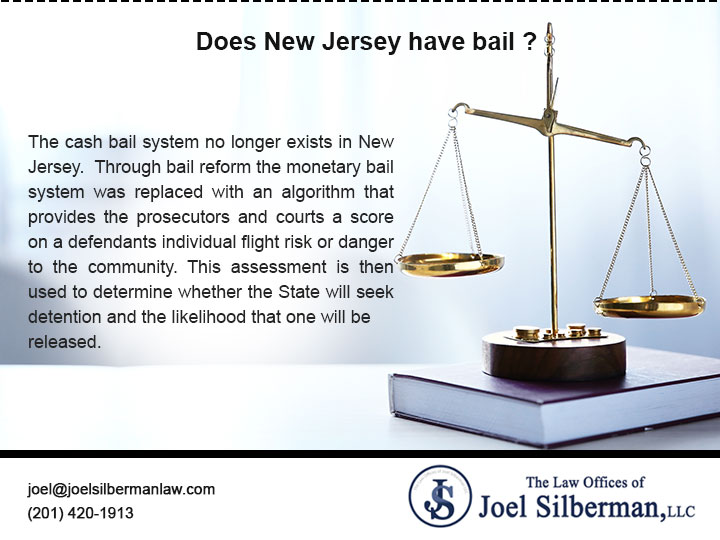 Does New Jersey have bail?
